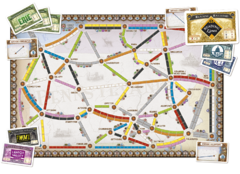 Ticket to Ride United Kingdom - expansão (importado)