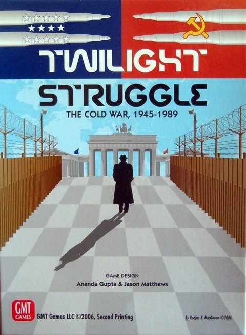 TWILIGHT STRUGGLE - A GUERRA FRIA