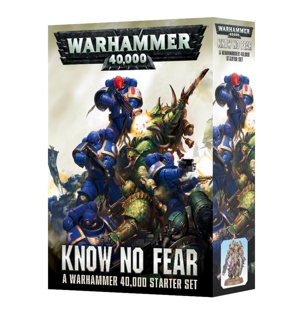 6bf5b2fe8e0c Know No Fear: A Warhammer 40,000 Starter Set