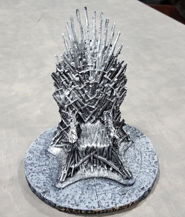 Game of thrones - Trono de Ferro (Resina)