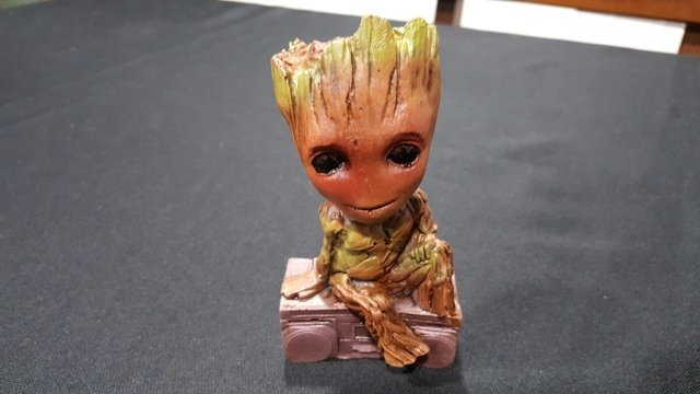 Baby Groot Guardioes da galaxia (Resina) - comprar online