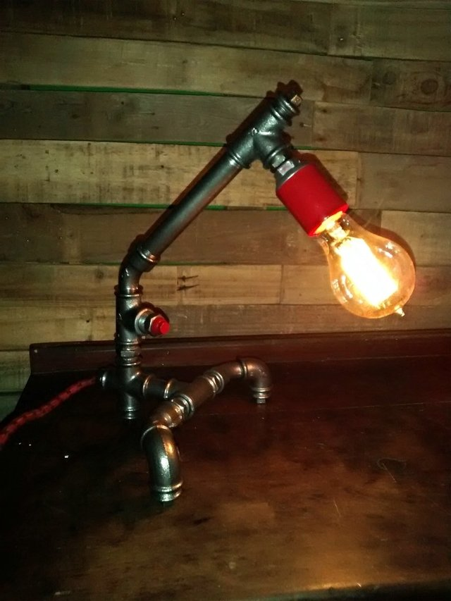 PIPE LAMP FOCO VINTAGE