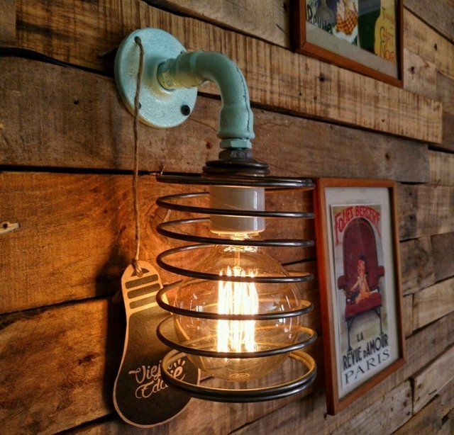 Aplique De Pared Vintage Retro