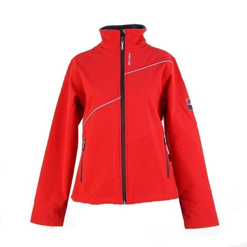 Campera  Soft Shell Athix  1123 Rojo