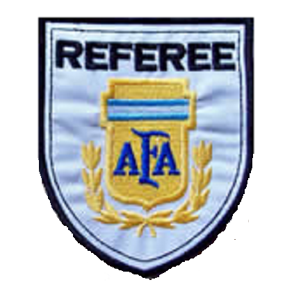 Escudo Bordado Referee AFA