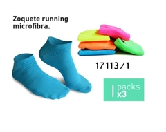 Pack Zoquetes  Running Diadora Woman