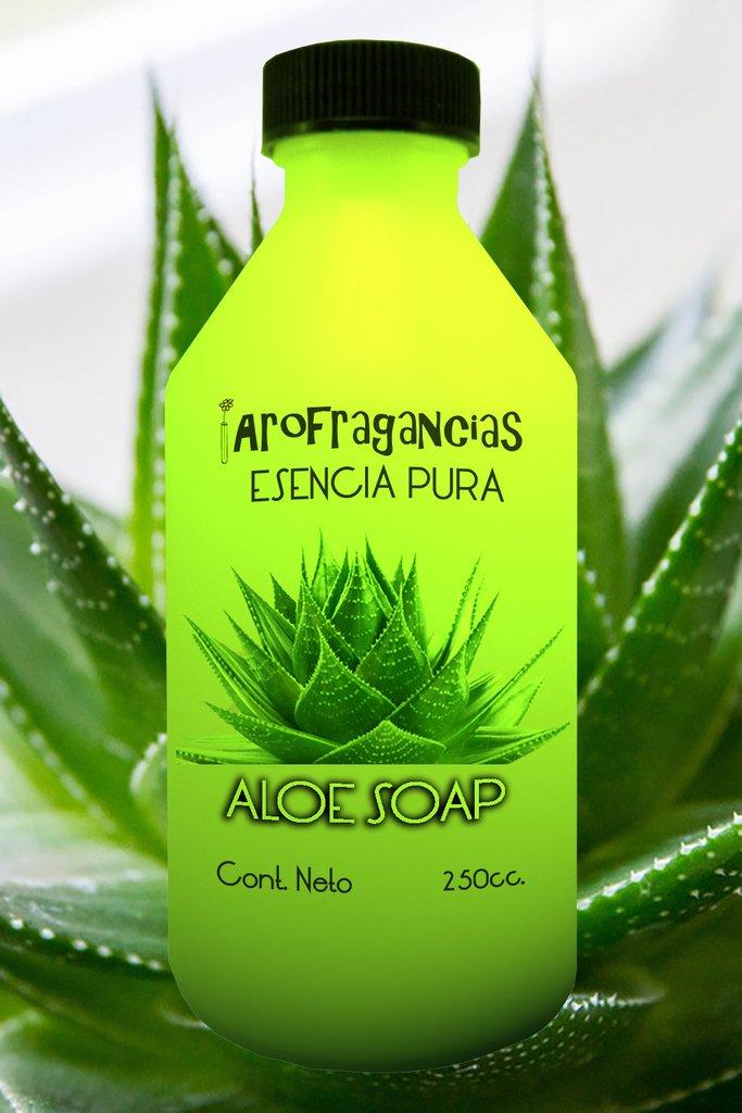 "Esencia Pura ""Aloe Soap"" x 250 cc."
