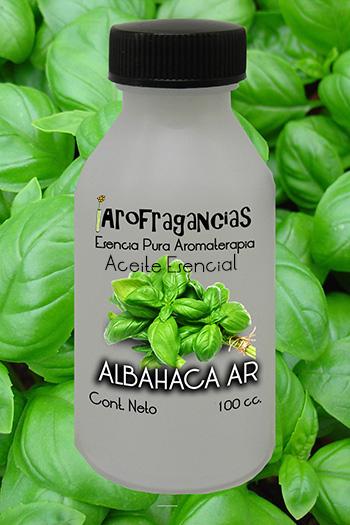 Aceite Esencial «Albahaca AR»