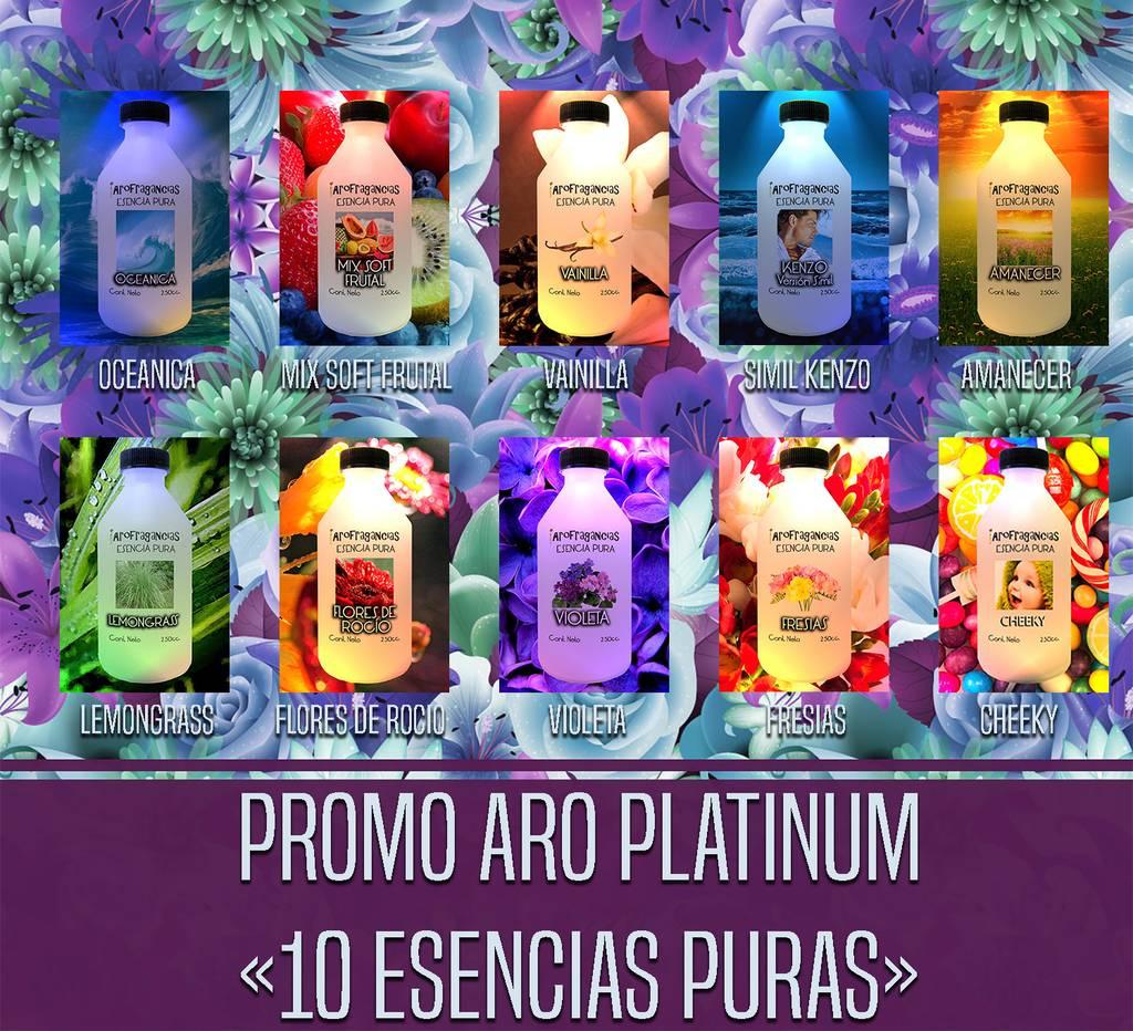 Promo Aro Platinum «10 Esencias Puras» 30% OFF