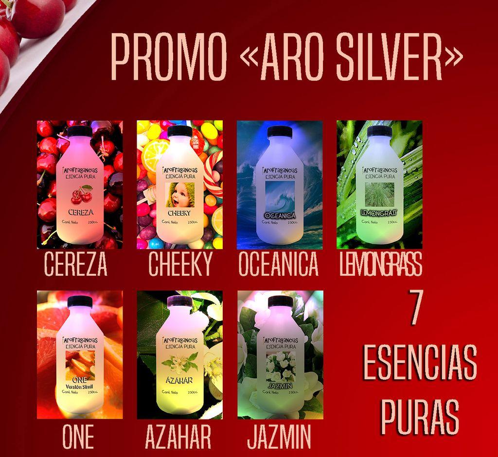Promo Aro Silver  «7 Esencias Puras» 30% OFF