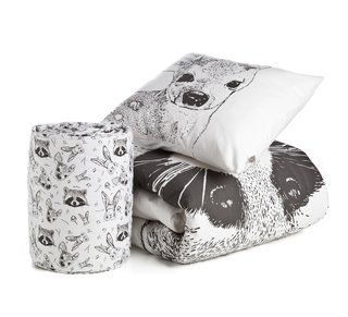 CHICHONERA ESTAMPADA LINEA BOSQUE - MÖA NORDIC HOME