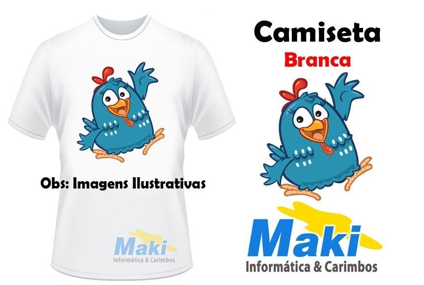 Camiseta Galinha Pintadinha 02