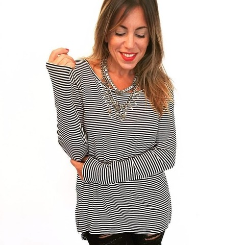 Remera stripes
