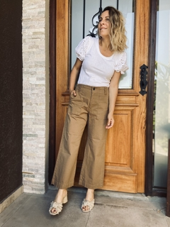Culotte denim color en internet