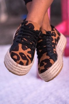 Zapatillas animal print