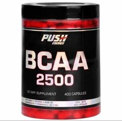 Bcaa 2500 Push Energy X400 Caps.