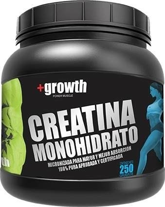 CREATINA MONOHIDRATO X 250 GR +GROWTH