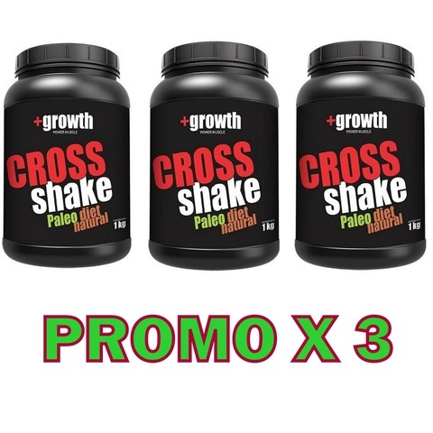 Cross Shake 1 Kg. + Growth - Promo X 3