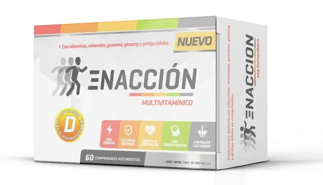 Enaccion Multivitaminico x60 tabs