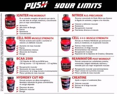 Igniter Pre Workout Muscle Push Energy X750gr