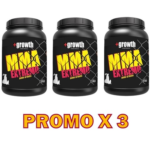 Mma +growth 1 Kg. Promo X 3