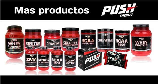 Creatine Push Energy X450gr - Mundo Gym