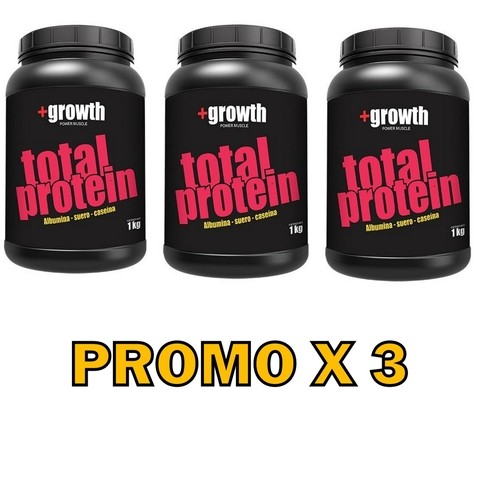 Total Protein 1kg +growth - Promo X 3