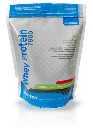 Whey Protein 7900 Gentech X 500 Grs.