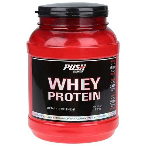 Whey Protein 80% 1000gr. Push Energy