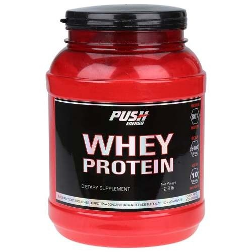 Whey Protein 80% 1000gr. Push Energy - comprar online