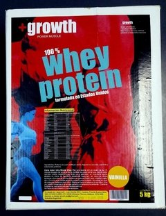 Whey Protein +growth X 5 Kg