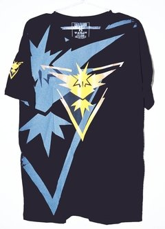 Camisa Pokemon Go - Team Instinct