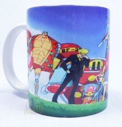 Caneca One Piece na internet