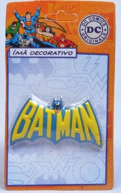Imã Decorativo DC - Batman Logo