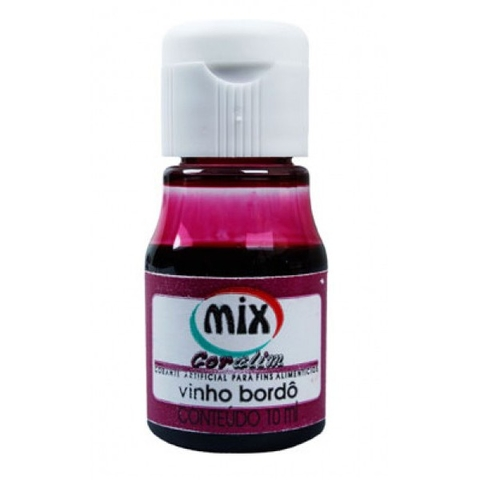 corante alim. vinho borde 10ml