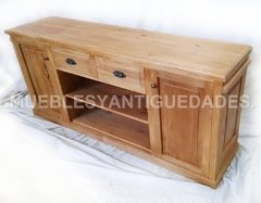Mueble para TV / audio en madera maciza reciclada (TV101A) en internet