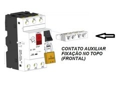 Contato Auxiliar para DMS-032 1NA+1NF Frontal - loja online