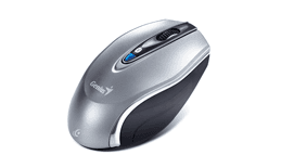 Mouse Genius Wireless Micro Traveler 9020 BT Negro y Plata