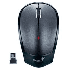 Mouse Genius Wireless NX-6500 2.4 Ghz. Usb Negro