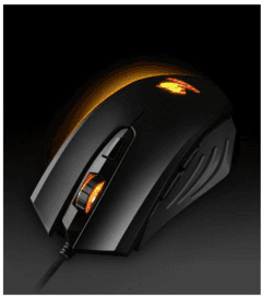 Mouse Gamer Cougar 200M - 2000Dpi - Negro