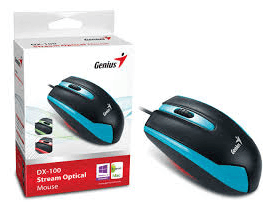 Mouse Genius DX-100 USB Azul