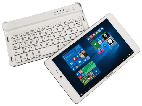 Convertible 2 en 1 PCBOX Coper - 16GB - Doble Cam - BT - Teclado - Win 10