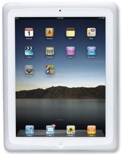 Funda p/ Ipad Manhattan silicona Blanco