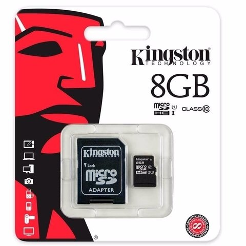 Memory Card 8Gb MicroSD Class 10  Kingston