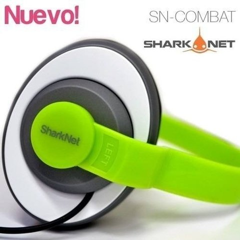 Auricular Shark-Net Combat White/Green