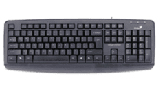 Teclado Genius KB-110X PS2