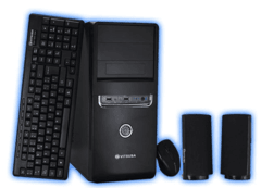PC Terama Basic 1 - I3-3250 - 4GB - 1TB - Gab KIT fuente 450W