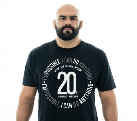 CAMISA VITOR BELFORT IM POSSIBLE na internet