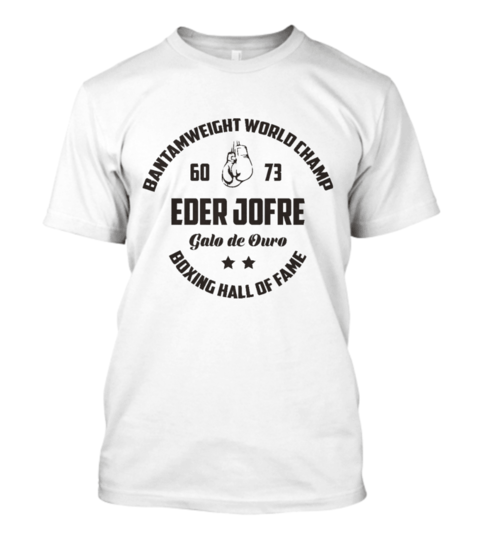 Camisa Iron Arm Eder Jofre World Champ Masculina Branca