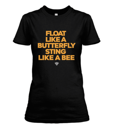 Camisa IronArm Float Like A Butterfly Feminino